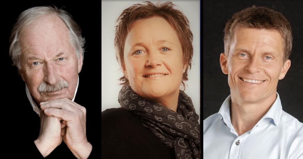 Johan Kaggestad, Linda Ernstsen og Ole Petter Hjelle holdt foredrag i Trondheim