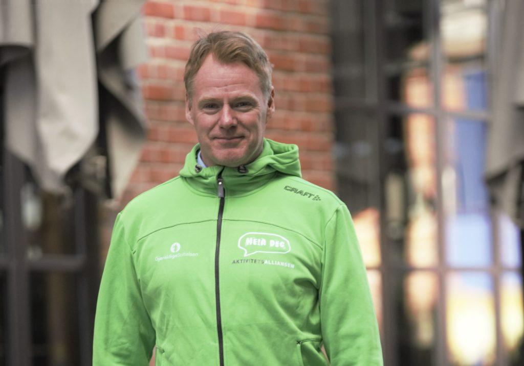 Bilde av Lars Erik Mørk. talsperson for Aktivitetsalliansen.